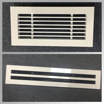 Grile liniare decor si tip slot