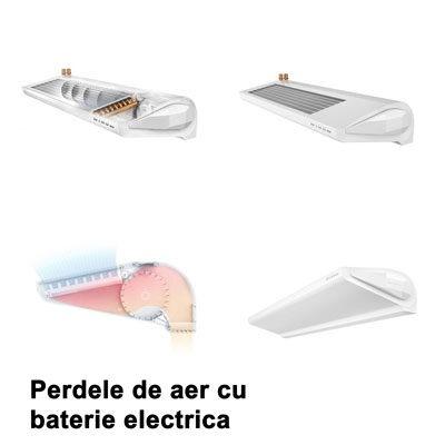 Perdele de aer cu baterie electrica